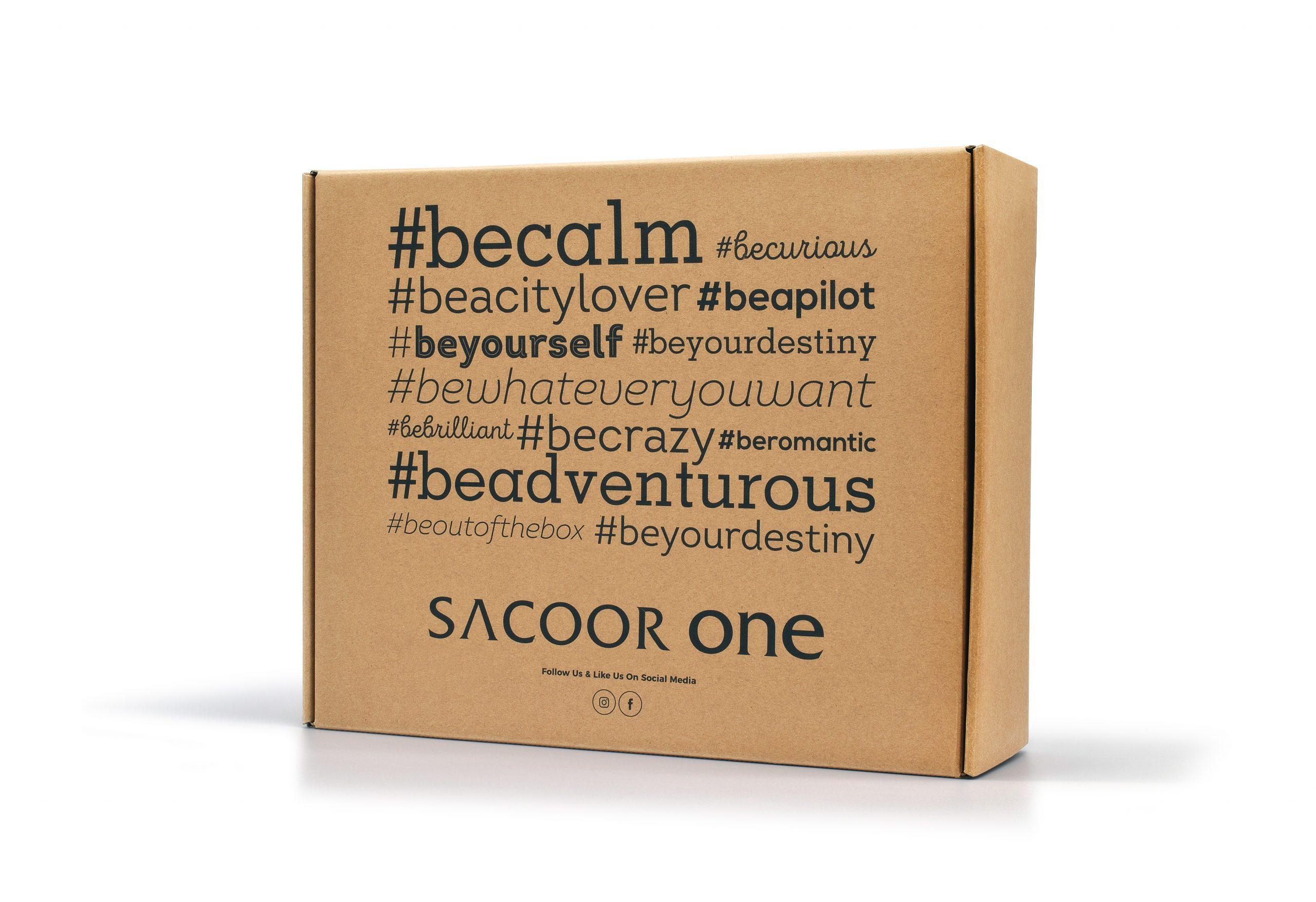 Sacoor One_embalagem_cartão